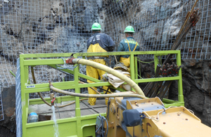 Experts in shotcrete